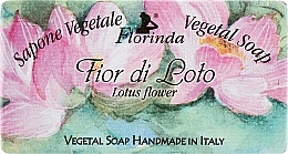 Parfums et Produits cosmétiques Savon naturel artisanal, Lotus sacré - Florinda Sapone Vegetale Vegetal Soap Lotus Flower