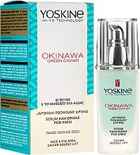 Parfums et Produits cosmétiques Sérum au caviar pour visage et contour des yeux - Yoskine Okinawa Green Caviar Lifting Serum