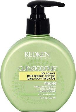 Lotion à l'huile de moringa pour cheveux - Redken Curvaceous Ringlet Shape-Perfecting Lotion — Photo N2