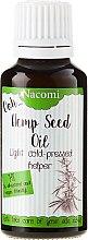 Parfums et Produits cosmétiques Huile de graines de chanvre non raffiné pour visage et corps - Nacomi Cannabis Oil