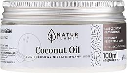 Parfums et Produits cosmétiques Huile de coco non raffinée - Natur Planet Coconut Oil