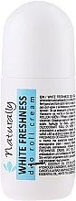 Parfums et Produits cosmétiques Déodorant roll-on crémeux Fraîcheur blanche - Naturally White Freshnes Deo Roll Cream