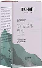 Parfums et Produits cosmétiques Crème à l'huile d'amande douce pour yeux - Mohani Natural Care Norwegian Wind Nourishing Eye Cream