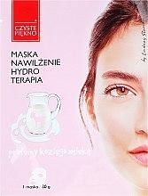 Parfums et Produits cosmétiques Masque tissu protéique au lait de chèvre Hydratation et hydrothérapie - Czyste Piekno Hydro Therapia Face Mask