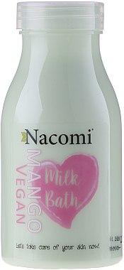 Lait de bain à la mangue - Nacomi Milk Bath Mango