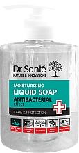 Parfums et Produits cosmétiques Savon liquide antibactérien à l'aloe vera - Dr. Sante Antibacterial Moisturizing Liquid Soap