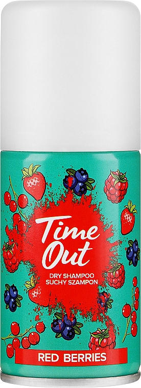 Shampooing sec, Baies rouges - Time Out Dry Shampoo Red Berries