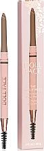 Parfums et Produits cosmétiques Crayon à sourcils rétractable avec goupillon - Doll Face The Sculptress Chiseled Brow Pencil