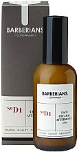 Parfums et Produits cosmétiques Crème à l'extrait d'aloe vera pour visage - Barberians. Face Cream & Aftershave №D1