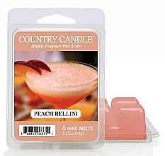 Parfums et Produits cosmétiques Cire parfumée pour lampe aromatique - Country Candle Peach Bellini Wax Melts