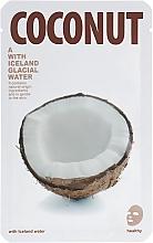 Parfums et Produits cosmétiques Masque tissu à l'extrait de noix de coco pour visage - The Iceland Coconut Mask
