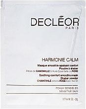 Parfums et Produits cosmétiques Masque apaisant aux pétales de camomille et huile de rose pour visage - Decleor Harmonie Calm Soothing Comfort Smoothie Mask Shaker Powder