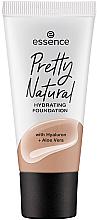 Parfums et Produits cosmétiques Fond de teint - Essence Pretty Natural Hydrating Foundation