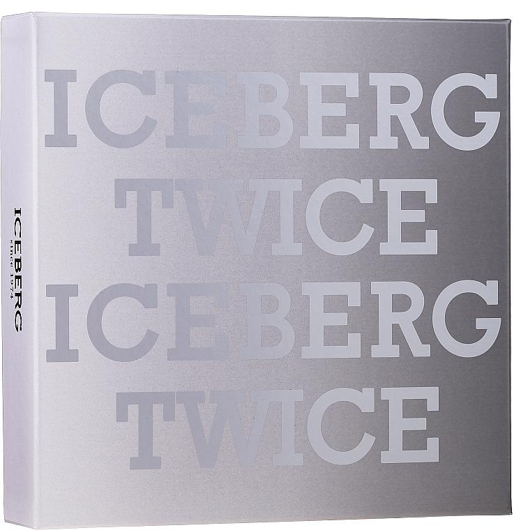 Iceberg Twice Homme - Set (eau de toilette/125ml + sac)