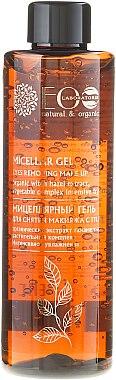 ECO Laboratorie Micellar Gel - Gel micellaire démaquillant à l'extrait de noisette pour yeux