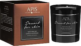 Parfums et Produits cosmétiques Bougie de soja naturelle, Dessert - APIS Professional Dessert For Skin Candle