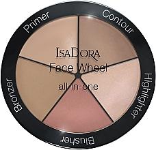 Parfums et Produits cosmétiques Palette de maquillage pour visage - IsaDora Face Wheel All-In-One