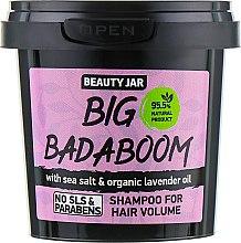 Parfums et Produits cosmétiques Shampooing au sel de mer et huile de lavande bio - Beauty Jar Shampoo For Hair Volume