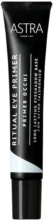 Base de fards à paupières - Astra Make Up Ritual Eye Primer
