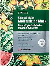 Parfums et Produits cosmétiques Masque tissu hydratant pour visage - Leaders 7 Wonders Kalahari Melon Moisturizing Mask