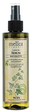 Sérum au panthénol pour cheveux, sans rinçage - Melica Organic Leave-in Restorative Serum