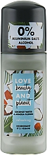 Parfums et Produits cosmétiques Déodorant roll-on, Eau de coco et Fleur de mimosa - Love Beauty And Planet