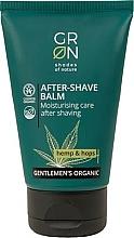 Parfums et Produits cosmétiques Baume après-rasage bio à l'huile de chanvre - GRN Gentlemen's Organic Hemp & Hop After-Shave Balm