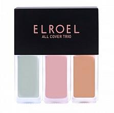 Parfums et Produits cosmétiques Correcteurs de visage - Elroel All Cover Trio