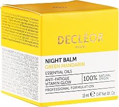 Parfums et Produits cosmétiques Baume de nuit à l'huile de mandarine verte - Decleor Green Mandarin Glow Night Balm