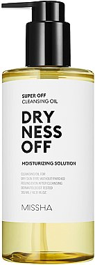Huile nettoyante hydratante pour visage - Missha Super Off Cleansing Oil Dryness Off