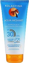 Parfums et Produits cosmétiques Émulsion solaire à l'acide hyaluronique pour corps - Kolastyna Aqua Aksamit Suncare Emulsion SPF 30