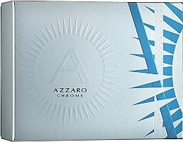 Parfums et Produits cosmétiques Azzaro Chrome - Coffret (eau de toilette/50ml + déodorant stick/75ml)