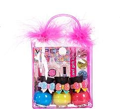 Parfums et Produits cosmétiques Set vernis à ongles pour enfants - Tutu Peel-Off (vernis à ongles/3x5ml + sac à pompons)