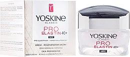 Parfums et Produits cosmétiques Crème de nuit à l'acide hyaluronique et glycérine - Yoskine Classic Pro-Elastin Face Cream 40+