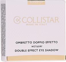 Parfums et Produits cosmétiques Fard à paupières - Collistar Double Effect Eye-Shadow Wet & Dry
