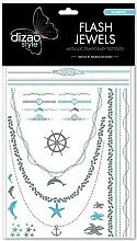 Parfums et Produits cosmétiques Tatouage flash Mer - Dizao Flash Jewels