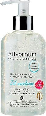 Gel micellaire hypoallergénique pour visage et yeux - Allverne Nature's Essences Micellar Gel