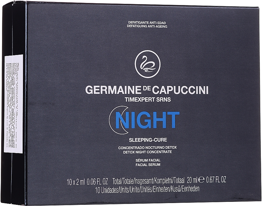 Soin de nuit en ampoules - Germaine de Capuccini Timexpert SRNS Night Sleeping-Cure