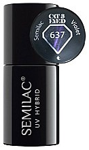 Parfums et Produits cosmétiques Vernis semi-permanent effet Cat-Eye - Semilac UV Hybrid Cat Eye 3D