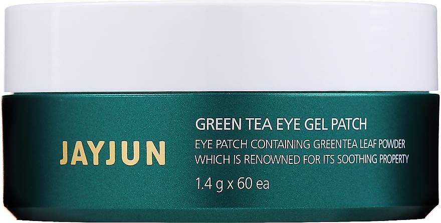 Patchs hydrogel à l'extrait de thé vert contour des yeux - Jayjun Green Tea Eye Gel Patch