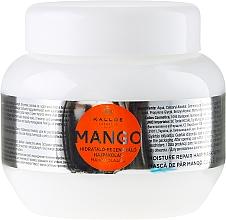 Parfums et Produits cosmétiques Masque à l'huile de mangue pour cheveux - Kallos Cosmetics Mango