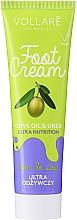 Parfums et Produits cosmétiques Crème nourrissante pour pieds - Vollare Cosmetics De Luxe Ultra Nutrition Oile&Urea Foot Cream