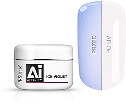 Parfums et Produits cosmétiques Gel monophase de construction pour ongles, 100g - Silcare Affinity Gel