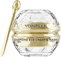Parfums et Produits cosmétiques Crème-masque anti-âge à l'Or pour contour des yeux - Yonelle Diamond Eye Cream & Mask