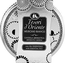 Parfums et Produits cosmétiques Tesori d`Oriente White Musk - Bougie parfumée