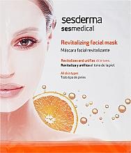 Masque en tissu à la vitamine C - SesDerma Laboratories Sesmedical Revitalizing Face Mask — Photo N1