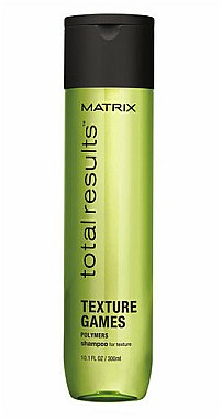 Shampooing texturisant à base de polymères - Matrix Total Results Texture Games Shampoo