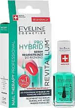 Parfums et Produits cosmétiques Sérum régénérant pendant et après manurue semi-permanente - Eveline Cosmetics Nail Therapy Professional Revitalum Pro Hybrid