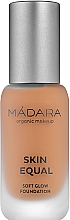 Parfums et Produits cosmétiques Fond de teint éclairant - Madara Cosmetics Become Organic Moon Flower Tinting Fluid
