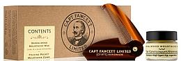 Captain Fawcett Sandalwood - Set (cire à moustache/15ml + peigne à moustache/1pcs) — Photo N1
